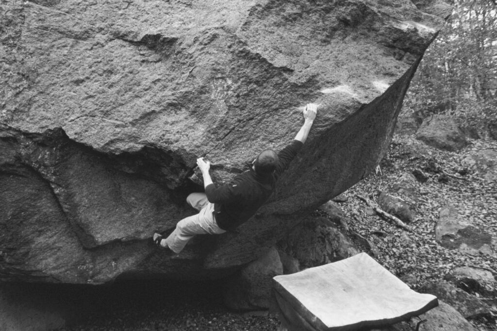 Photo: Simon Jonegård, Climber: Harald Bohlin