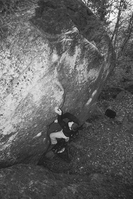 Photo: Simon Jonegård, Climber: Harald Bohlin