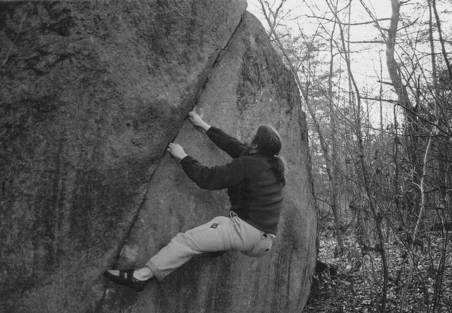 Climber: Carl Alwmark