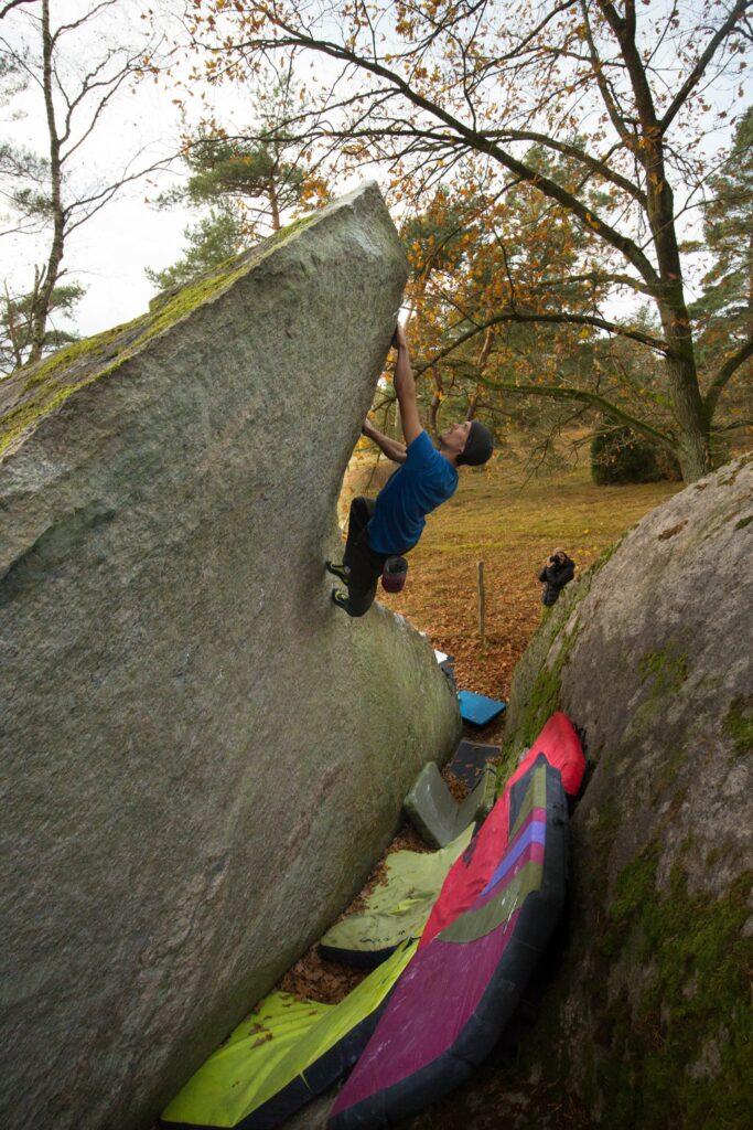 Photo: Niklas Raynbeau, Climber: Anton Nilsson