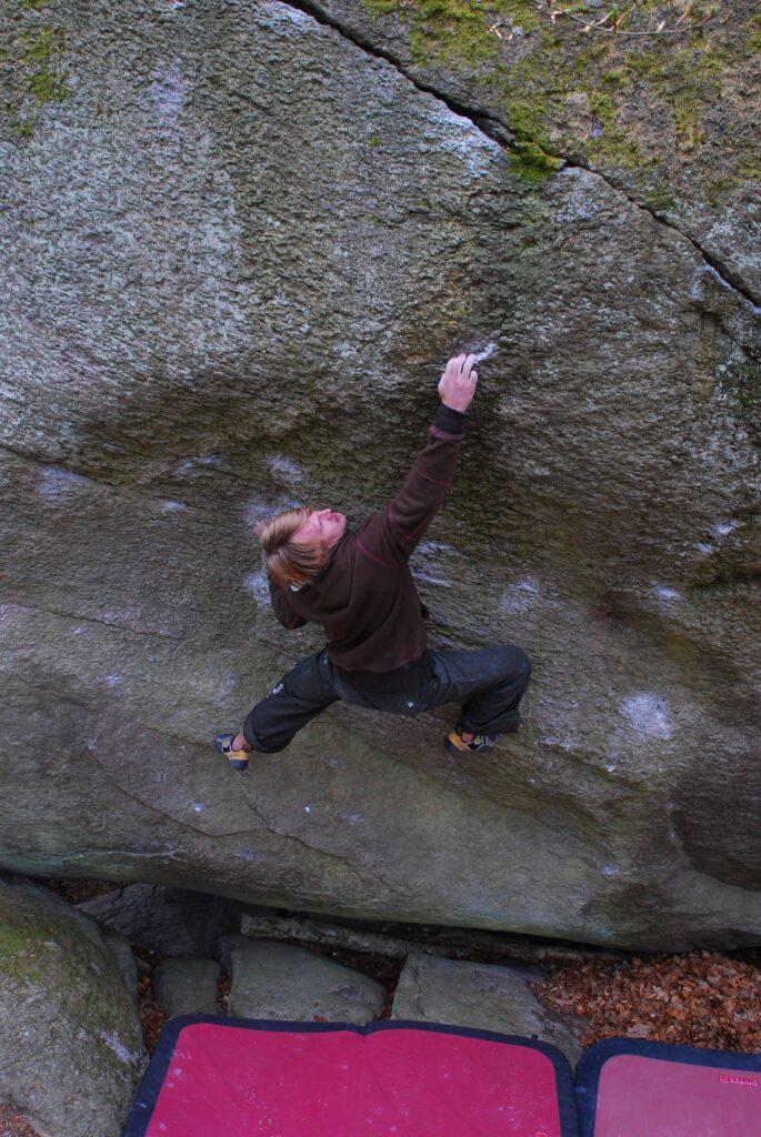 Photo: Ola Modéer, Climber: Nalle Hukkataival