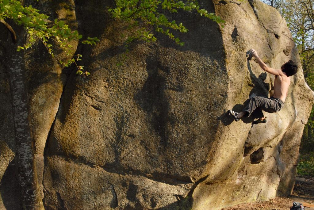Photo: Stephan Denys, Climber: Tony Lamiche