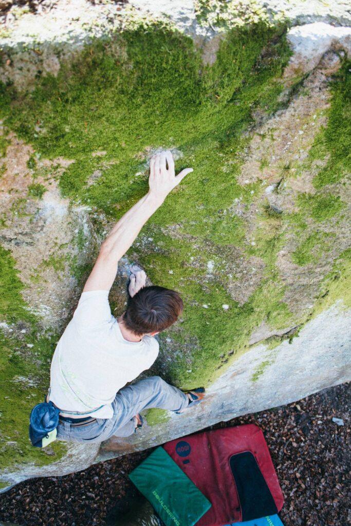 Photo: Stefan Drouget, Climber: Hampus Nilsson