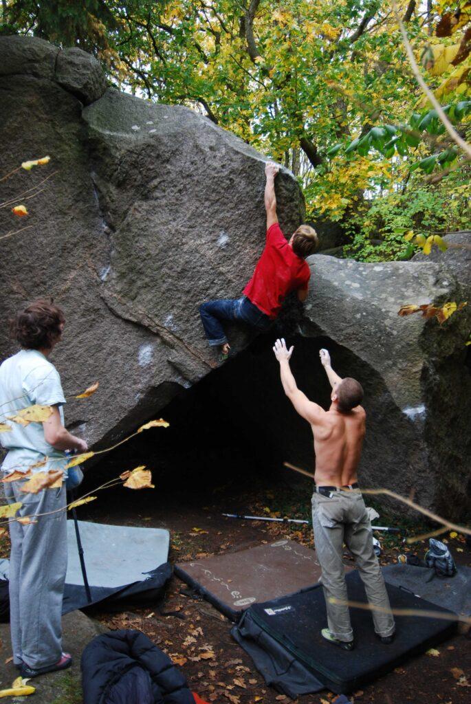 Photo: Ola Modéer, Climber: Martin Fransson