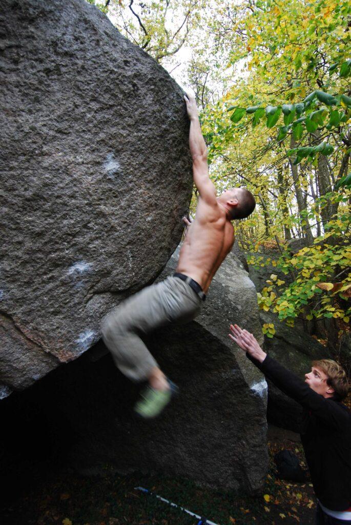 Photo: Ola Modéer, Climber: Harald Bohlin