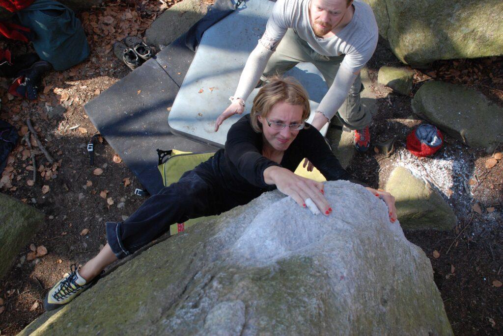 Photo: Ola Modéer, Climber: Lisa Modéer