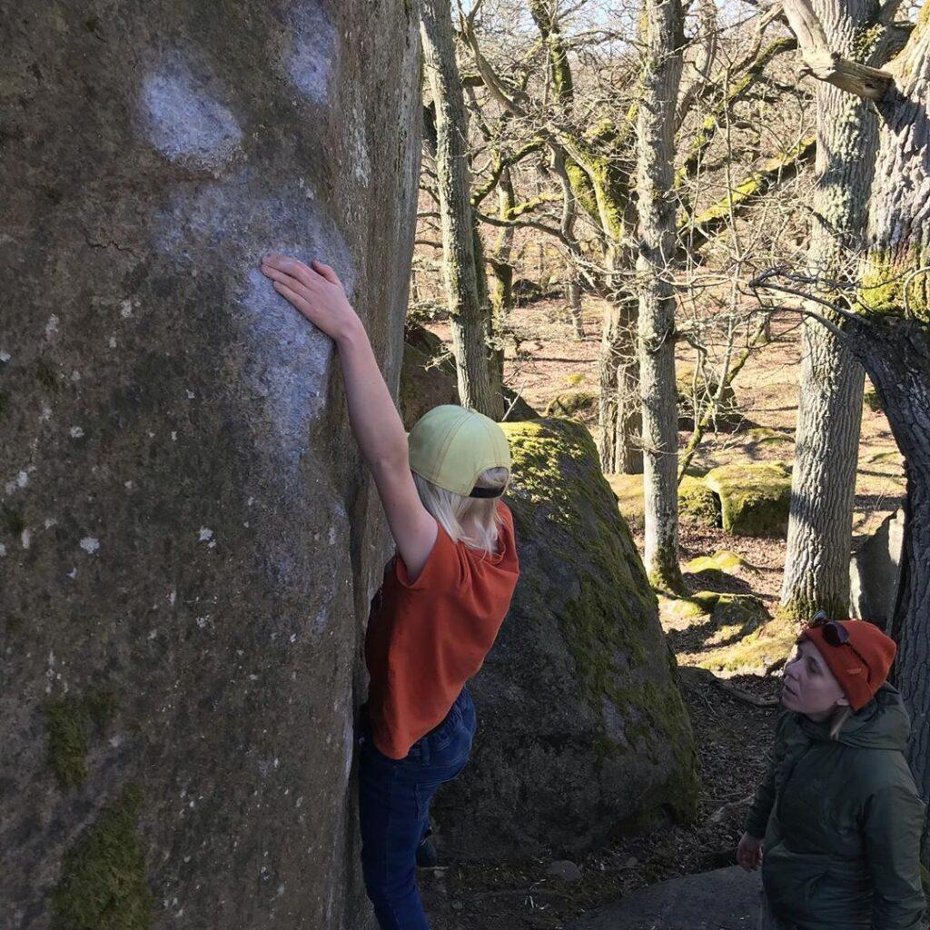 Photo: Ludvig Qvarnström, Climber: Linus Qvarnström