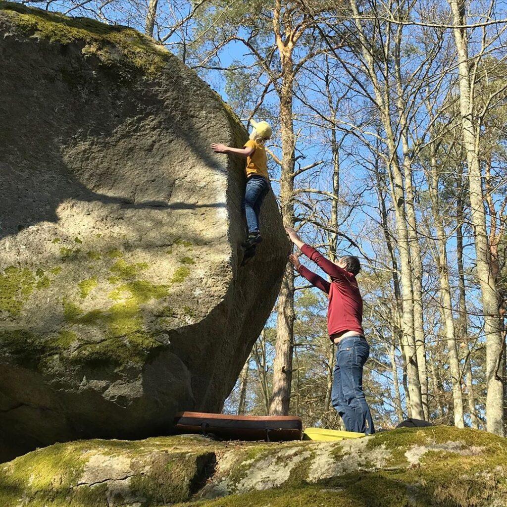 Photo: Linnéa Qvarnström, Climber: Linus Qvarnström
