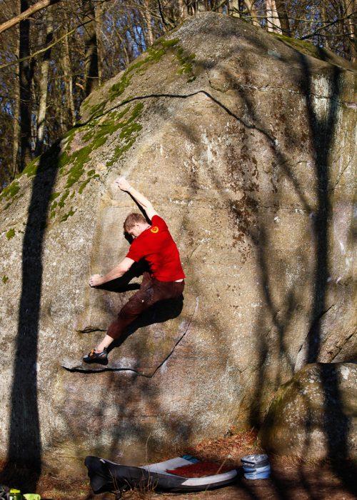 Photo: Fredrik Rapp, Climber: Peter Ulmert