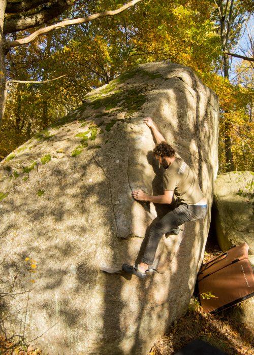 Photo: Anders Gustafsson, Climber: David Kraus