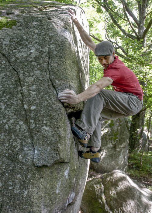 Photo: Erik Karlsson, Climber: David Crawley